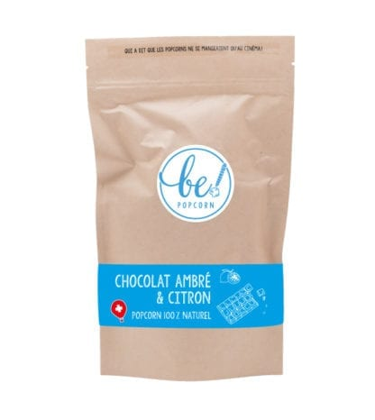 Popcorn - Chocolat ambré & Citron