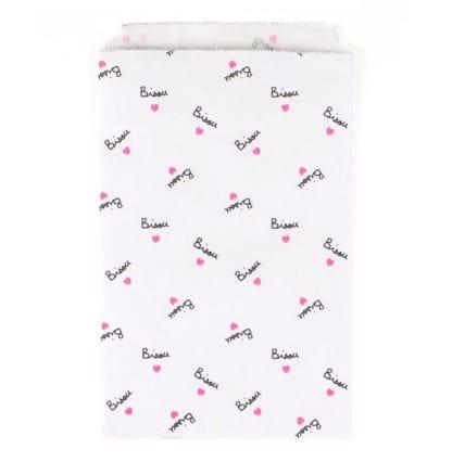 Pochettes papier - Bisou (10pcs)