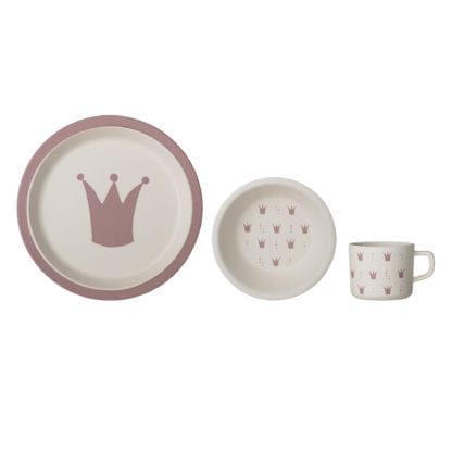 Vaisselle en bambou - Princess (3pcs)