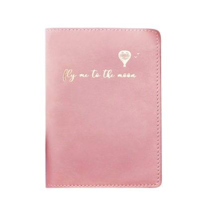 Étui à passeport – Rose