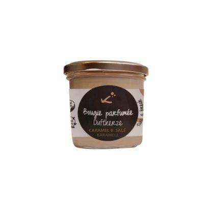 Bougie parfumée mini - Caramel beurre salé