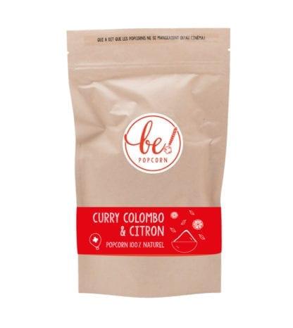 Popcorn - Curry colombo & Citron