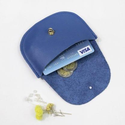 Porte-monnaie - Hirondelle cobalt