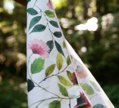 Mouchoir en tissu - Dahlia