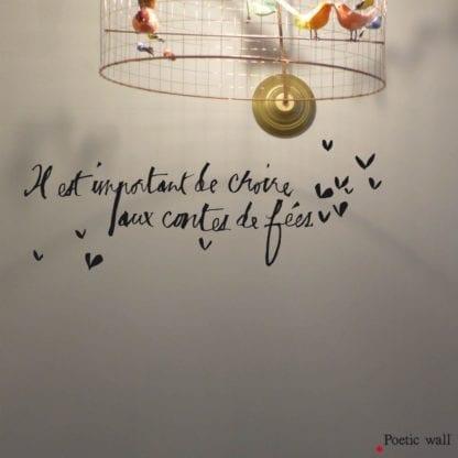 Sticker mural - Contes de fées