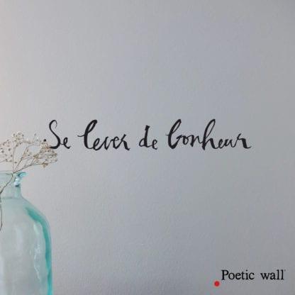 Sticker mural – Bonheur