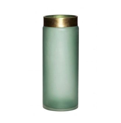 Vase - Vert/doré M