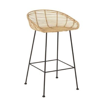 Chaise de bar - Rotin Tabitta
