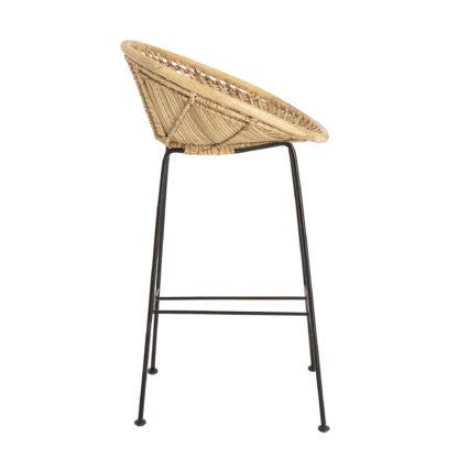 Chaise de bar - Rotin Yvonne