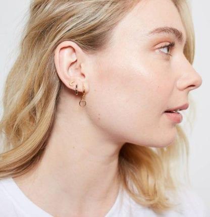 Boucles d'oreilles - Lune