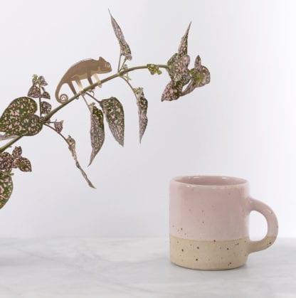 Déco pour plante - Caméléon