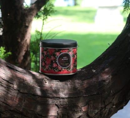 Bougie – Bois de rose