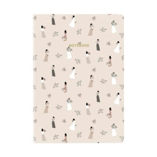 Cahier - Demoiselles & Fleurs
