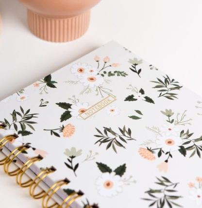 Cahier - Fleurs - Pastel