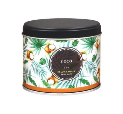 Bougie – Noix de coco