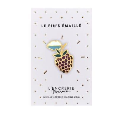 Pin's émaillé – Framboise