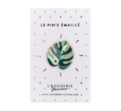 Pin's émaillé – Monstera
