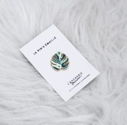 Pin's – Feuille de monstera