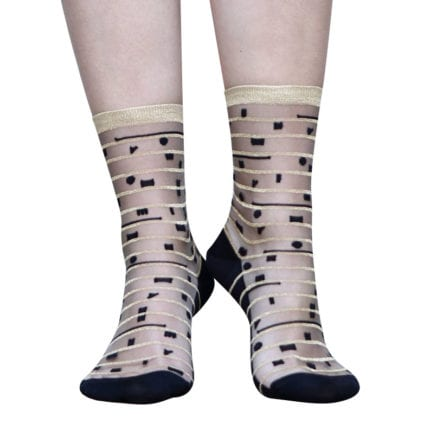 Chaussettes - 5th Avenue gold
