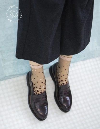 Chaussettes - Nakameguro bordeaux