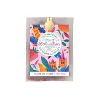 Bonbons - Pêche & Menthe (20gr)