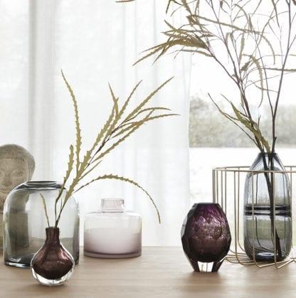 Vase transparent - Rose