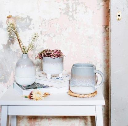 Vase et mug en céramique