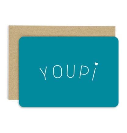 Carte de voeux – Youpi