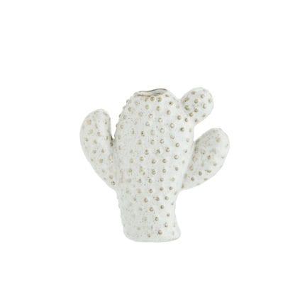 Vase cactus S - Blanc