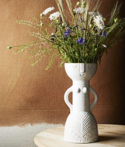 Vase - Femme visage