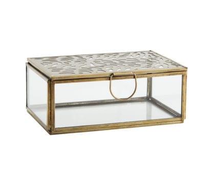 Boîte en verre - Motifs