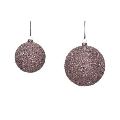 Boules de Noël - Paillettes (2pcs)