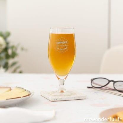 Verre à bière - Relâche la pression