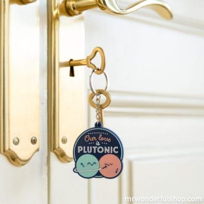 Porte-clés - Our love is plutonic