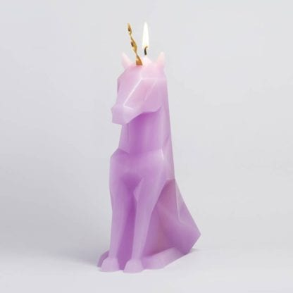 Bougie Pyropet – Licorne