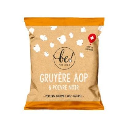 Popcorn mini - Gruyère AOP & Poivre