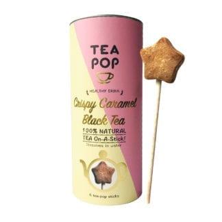 Tea Stick en boîte – Caramel (6pcs)
