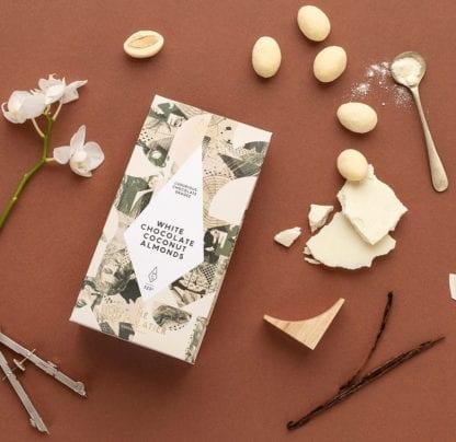 Dragées chocolat blanc - Coco