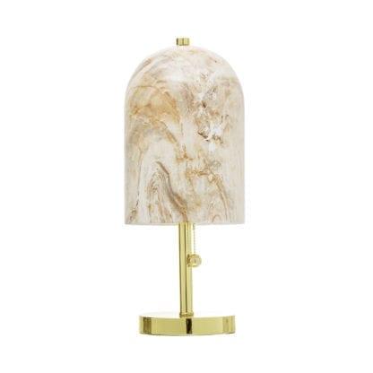 Lampe - Doré/Verre