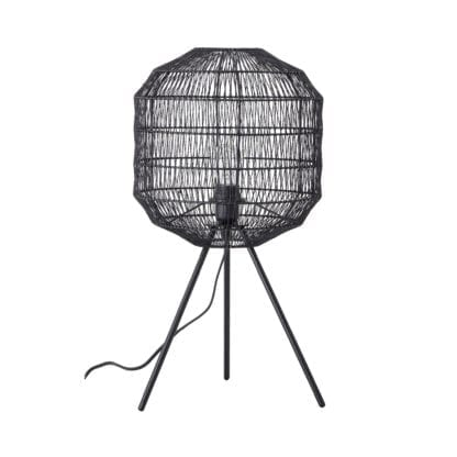 Lampe - Métal noir