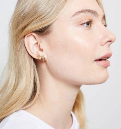 Boucles d'oreilles - Étoile