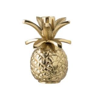 Bougeoir - Ananas doré