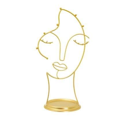 Support à bijoux - Visage Maya