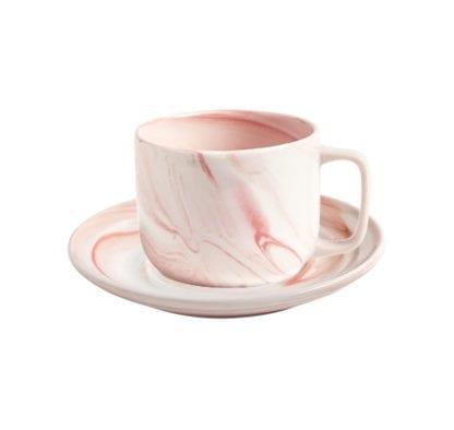 Tasse à café Twist - Rose