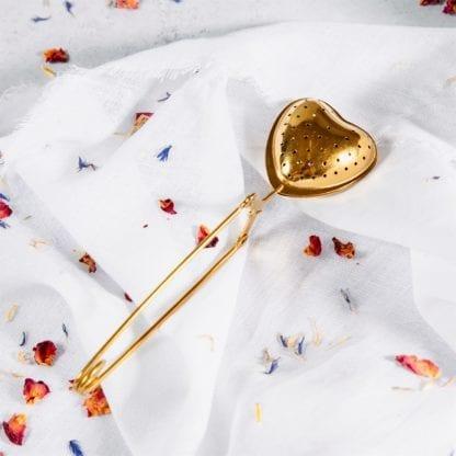 Infuseur - Coeur doré