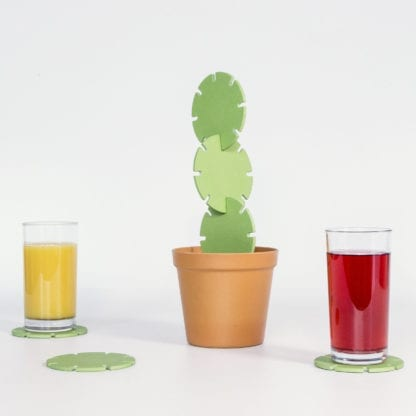 Dessous de verre - Cactus (6pcs)