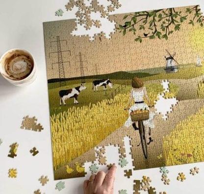 Puzzle - A fine day