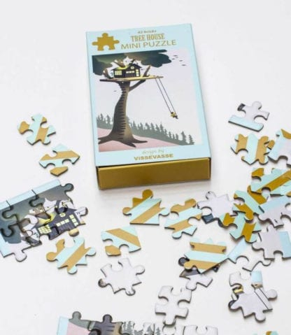 Puzzle mini - House tree