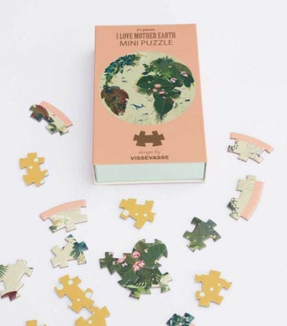 Puzzle mini - Mother earth
