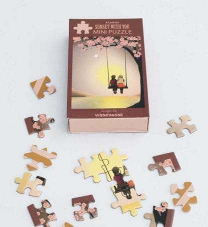 Puzzle mini - Sunset with you